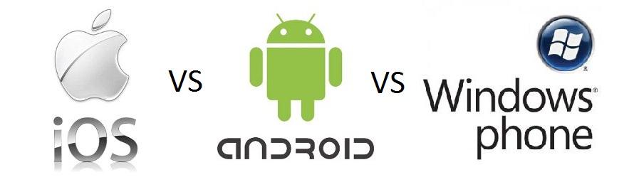 مقارنة بين متاجر التطبيقات لأنظمة تشغيل الهواتف الذكية ios و  Android و Windows